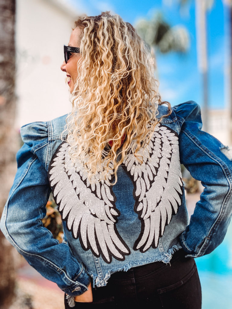 Beaded and embellished jean jackets are not only on trend, but they are very wearable. here are my top tips to style beaded denim jackets.