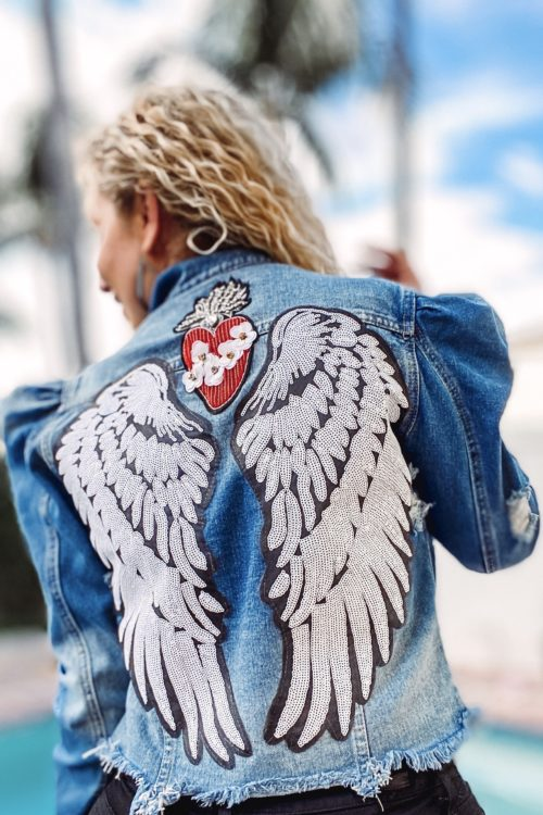 Embellished jean jackets are my newest obsession
