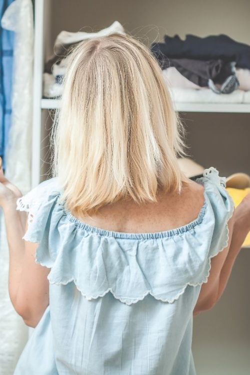 How to clean out and edit your closet
